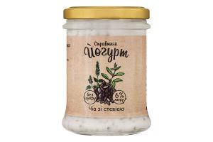 Йогурт 6% без сахара Чиа со стевией Коза Чка с/б 180г