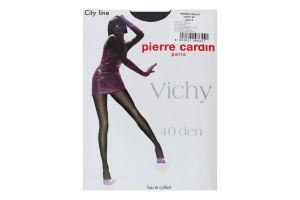 Колготи жіночі Pierre Сardin Vichy 40den 3 nero