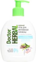 Doctor Herbal гель для інтимної гігієни Шавлія+алое вера 300мл