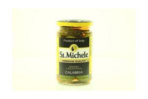 Оливки с косточкой Calabria St.Michele с/б 295г