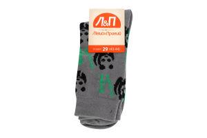 Шкарпетки чоловічі Лівий&Правий Animals 29 світло-сірий