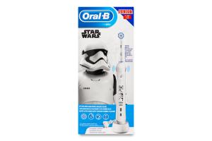 Щітка зубна для дітей від 6років електрична Star Wars Junior Oral-B 1шт