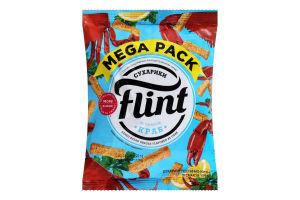 Сухарики пшенично-ржаные со вкусом краба Flint м/у 110г