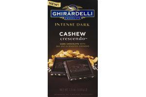 Ghirardelli Intense Dark Cashew Crescendo