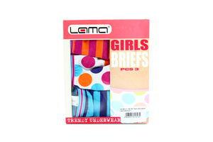 Труси Lama Girls 3 briefs 140-146