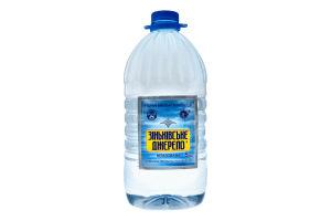 Вода мінеральна негазована Зіньківське Джерело п/пл 5л