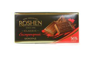 Шоколад Roshen Екстрачорний 100г