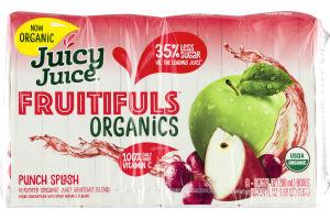 Juicy Juice Fruitifuls Organics Punch Splash - 8 CT