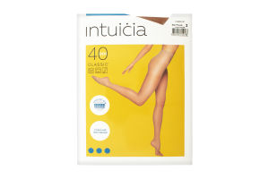 Колготки жіночі Intuicia Classic 40den 2 vizone