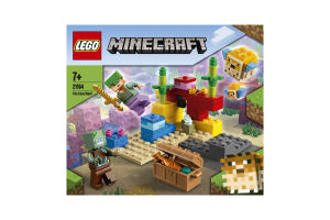 Конструктор для детей от 7лет №21164 The Coral Reef Minecraft Lego 1шт