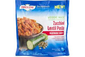 Birds Eye Steamfresh Veggie Made Zucchini Lentil Pasta Marinara Sauce