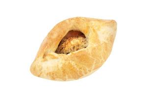Пирожки открытые погача с горохом и беконом Фора