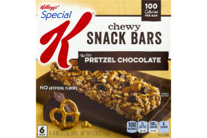 Kellogg's Special K Chewy Snack Bars Salted Pretzel Chocolate - 6 CT