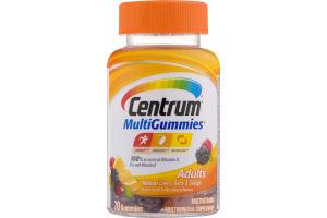 Centrum MultiGummies Adults Natural Cherry, Berry & Orange - 70 CT