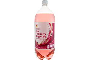 Ahold Diet Ginger Ale Raspberry Caffeine Free