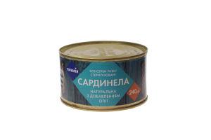 Сардинелла Премія натуральная с добав.масла №5 ж/б