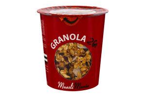 Сніданки сухі Гранола з вишнею та кокосом Cherry-Choco Granola 2Go Muesli Mania ст 70г