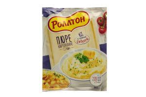 Пюре быстрого приготовления картофельное с жареным луком Роллтон м/у 37г