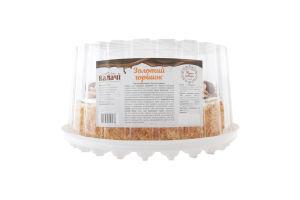 Торт комбінований Золотий горішок Калачі п/у 1кг