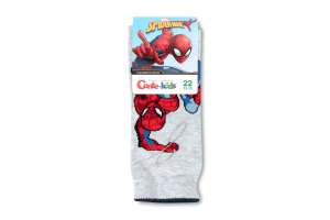 Носки дет Conte-kids Marvel 17С132 с.серый р22 357