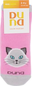 Шкарпетки дитячі Duna Color your day №4201 16-18 рожевий