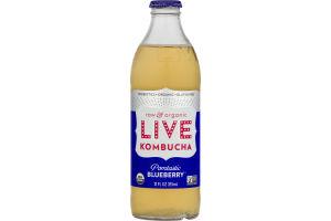 LIVE Kombucha Raw & Organic Pomtastic Blueberry
