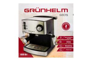 Кофемашина эспрессо 850 Вт GEC15 Grunhelm 1шт