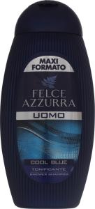 Шампунь і гель для душу чоловічий Cool Blue Felce Azzurra 400мл