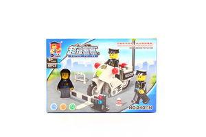Іграшка Конструктор Поліцейський скутер
