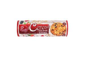 Печенье овсяное с лесными ягодами Piselli м/у 250г