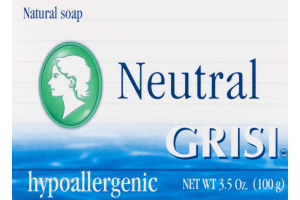 Grisi Neutral Natural Soap Hypoallergenic