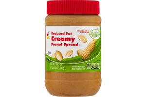 Ahold Reduced Fat Creamy Peanut Spread