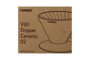 Пуровер для заваривания кофе керамический V60 Pink №VDC-02-PPR Hario 1шт