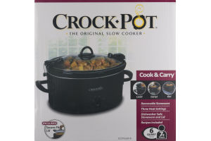 Crock-Pot The Original Slow Cooker 6 Quart
