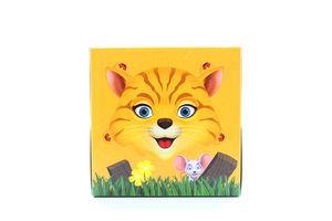 Платочки бумажные детские 20.8х21см 3-х слойные Kids Zewa 60шт