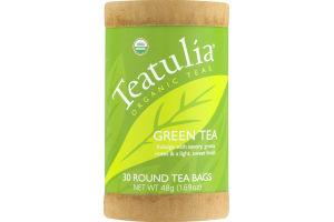 Teatulia Organic Teas Green Tea Bags - 30 CT