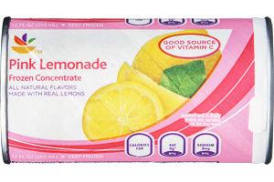 Ahold Pink Lemonade Frozen Concentrate