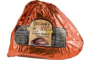 Cook's Pre-Sliced Quartered Hickory Smoked Ham