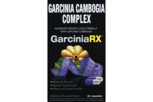Garcinia Cambogia Complex Garcinia RX Dietary Supplement Capsules - 84 CT