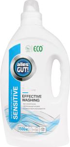 ECO Рідкий засіб для прання Sensіtive ТМ Alles GUT! 1500 мл
