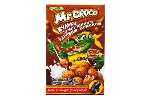 Сухий сніданок Кульки зі згущеним вареним молоком Mr. Croco к/у 75г