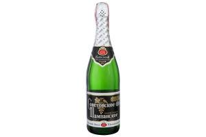 Шампанское 0.75л 10.5-12.5% белое полусладкое Советовское КЗШВ бут