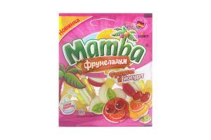 Мармелад жевательный MambaФрумеладки Фрукты-йогурт