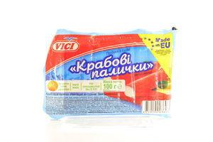Крабовые палочки замороженные Vici в/у 100г