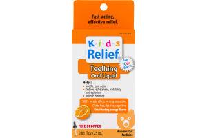 Kids Relief Teething Homeopathic Medicine Orange