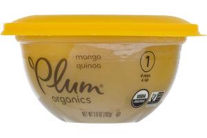 Plum Organics Mango Quinoa