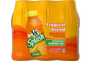 V8 Splash Flavored Juice Beverage Tropical Blend - 6 PK