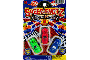 Speed Shotz Finger Lights - 3 PK