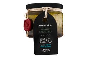 Сом с сыром Филадельфия Рыбная паштетка Aquafarm с/б 275г