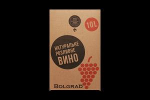 Вино Bolgrad Руж Селект красное полусладкое разлив